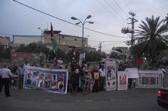 Demonstration for prisoners in hunger strike.