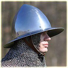 kettle hat type 2, polished