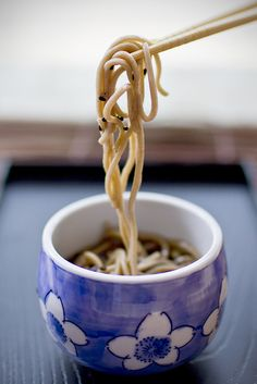 Japanese noodles - in a beauty bowl