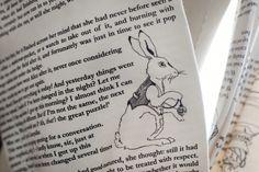 Alice in Wonderland Book Scarf $42