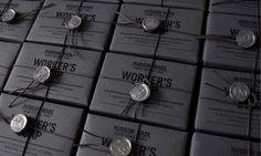 Artisanal Hipster Soap Branding : design packaging