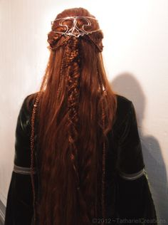 Lord of the Rings inspired braided hair