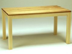Rectangular wooden dining table Solid Collection by sixay furniture | design Szikszai László