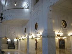 The waiting room in the historical King Street Station in Seattle opened April 24, 2013 after restoration by SDOT Photos, via Flickr