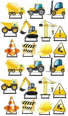365 best construction printables images on 365 best construction printables images on jennies Construction Cupcakes, Under Construction Theme, Construction Birthday Parties, 3rd Birthday Parties, Boy Birthday, Construction Images, Construction Signs, Digger Party, Cool Birthday Cakes