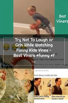 Try Not To Laugh or Grin While Watching Funny Kids Vines - Best Viners #funny #funnyvideos #funnymemes #cute #babies Funny School Pictures, Try Not To Laugh, School Humor, Funny Kids, Vines, How To Become, Funny Memes, Babies, Babys