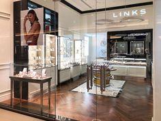 LINKS OF LONDON, CYPRUS NICOSIA MALL   iidsk   Interior Design & Construction Interior Design And Construction, Links Of London, Cyprus, Mall, Retail, Furniture, Jewelry, Home Decor, Jewlery