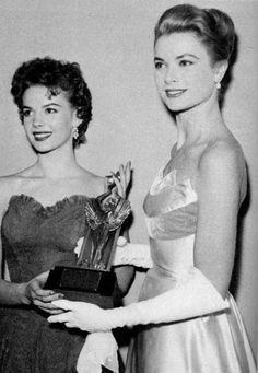 Grace Kelly and Natalie Wood