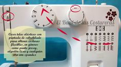 Cómo usar Prensatelas para bordes sobrehilados - Overlock Edge Presser Foot - Overcast Presser Foot. Paso 1