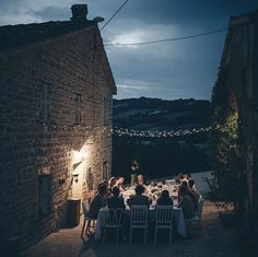 Design food and wine came together last weekend at a dinner hosted by Studio Blanco (@studioblanco.it) at @Villa_Tereze a farmhouse and artist retreat near Pergola. A menu was assembled by the London chef Leandro Carreira (@leocarreiraa) for the design studios traveling dinner party known as La Cenetta  a gathering of the countrys creatives and food lovers in unusual settings across Italy.  via NY TIMES STYLE MAGAZINE OFFICIAL INSTAGRAM - Celebrity  Fashion  Haute Couture  Advertising…