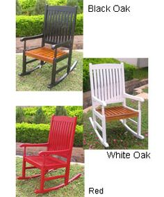 @Overstock - Relax in style with this K.D. porch rocking chair  Attractive rocker is made of solid acacia hardwood and gently distressed for an antique look  Rocking chair is great for indoor and outdoor usehttp://www.overstock.com/Home-Garden/Rocking-Chair-with-UV-Paint-Antiqued-Finish/2576585/product.html?CID=214117 $169.99