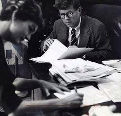 Jack and Jackie Kennedy