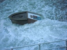 Cudillero. La furia del mar