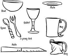 Tutorial on beginner feast gear. #SCA #medieval