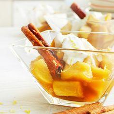 Omenakompotti ja sitrus-ranskankermaa - Soppa 365
