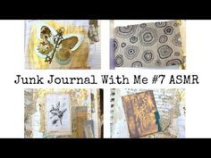 Junk Journal With Me ASMR #7 Paper Sounds/no Music/no Talking - YouTube