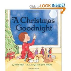 a wonderful book to allow children to be  part of the Nativity story- Nola Buck