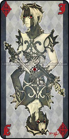 Augen Auf: Jack of Diamonds by yuumei.deviantart.com on @deviantART
