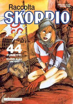 Fumetti EDITORIALE AUREA, Collana SKORPIO RACCOLTA n°332 JANVIER 2002