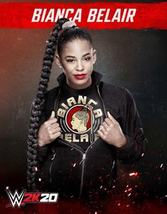 Who's in WWE Find out which WWE and NXT Superstars made the cut as playable characters for the roster of the upcoming WWE video game for Playstation 4 and Xbox One. Black Wrestlers, Wwe Female Wrestlers, Wrestling Superstars, Women's Wrestling, Womens Royal Rumble, Cute Food Drawings, Wwe Girls, Wwe Womens, Beautiful Smile