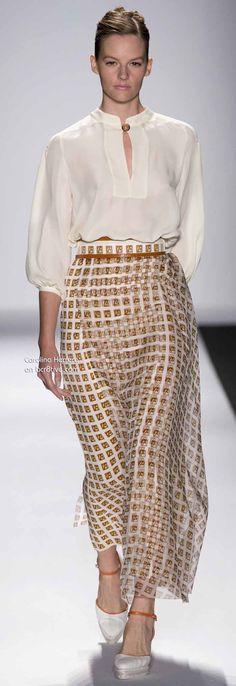 Carolina Herrera Spring 2014 New York Fashion Week » bcr8tive