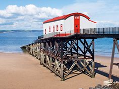 Grand Designs TV house: Lifeboat Station in Tenby, South Wales #Granddesigns #selfbuild #Tenby