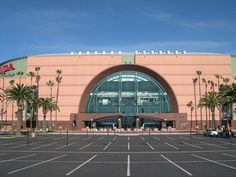 Honda Center, Anaheim--across the street from Saddleback at the Grove.