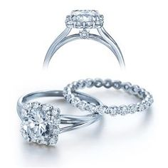 Shop online VERRAGIO ENG0363 Halo White Gold Diamond Engagement Ring at Arthur's Jewelers. Free Shipping