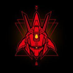 Red robot head gaming mascot or esports logo PNG and Vector Vector Design, Vector Art, Logo Design, Mascot Design, Graphic Design, Gundam Head, Gundam Art, Logo Esport, Metal Font