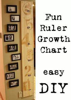 growth chart - so cute