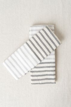 Linen Border Face Towel