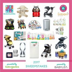 Gearapalooza 2017: The Ultimate Baby Gear and Registry Event Series has four more stops   a WEBINAR left for 2017!  We're celebrating by giving away everything pictured below! Join BCB and The BabyGuyNYC at...