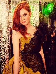 Karen, looking stunning.
