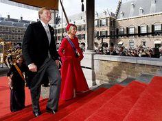 «Prinsjesdag»: En Carroza de Oro, los Reyes Guillermo y Máxima inauguraron las sesiones del Parlamento de Holanda