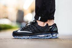 "Nike Air Max 2016 ""Black, White & Dark Grey"" - EU Kicks: Sneaker Magazine"