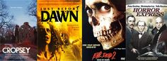 Our top 5 horror movies, FREE on www.donnaplay.com