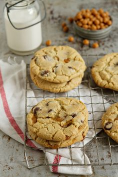 Salted Caramel Chocolate Chip Cookies | My Baking Addiction