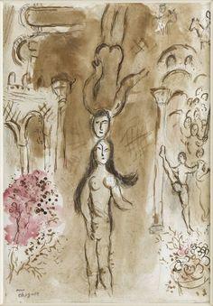 Tête à Tête, Marc Chagall. (1887 - 1985)