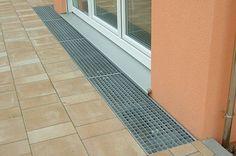 Gitterrost Terrassenanschluss - e-stahl Shop