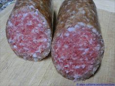 comp_CR_CIMG3305_Zwiebelmettwurst Charcuterie, German Meat, How To Make Sausage, Sausage Making, Smoking Meat, Foods To Eat, Sausage Recipes, Diy Food, Poultry