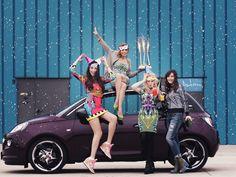 Opel Adam, jojo, catalina grama, alina tanasa, diana enciu, fashion street style and fun.www.fabulousmuses.net
