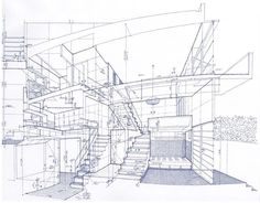 Tomoyuki Tanaka renders the intricacies of some of the world's busiest train stations by hand.