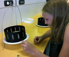 Zoetrope means Turning Zoo or Wheel of Life. I developed this kit as a way for kids to learn the basic mechanics of strobing images and get excited about animatio. Science Projects, School Projects, Projects For Kids, Crafts For Kids, Project Ideas, Art Projects, Family Crafts, Craft Ideas, Science Ideas