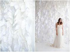 Top 20 Unique Wedding Backdrop Ideas    - I love white on white: winterwonderland