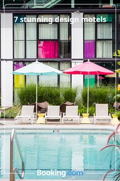 Neon signs, 1960s-era decor and walls made entirely out of rope – these are some of the most intriguing and inspiring design motels in the USA. #design #motel #usa #san-francisco #wyoming #los-angeles #new-york-state #palm-springs #boston #texas