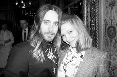 Jared Leto and Lea Seydoux in Paris.