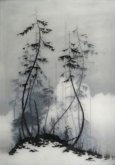 Brooks Salzwedel. Ape on the Moon, 2010. graphite pencil, tape, resin.