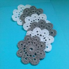 Onderzetters haken (crochet)
