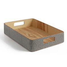 Decospot | Storage | Atipico Arigatoe Box Waved. Available at decospot.be webshop.