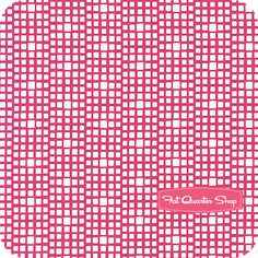 Squared Elements Fuchsia Yardage SKU# CST-3101 - Fat Quarter Shop